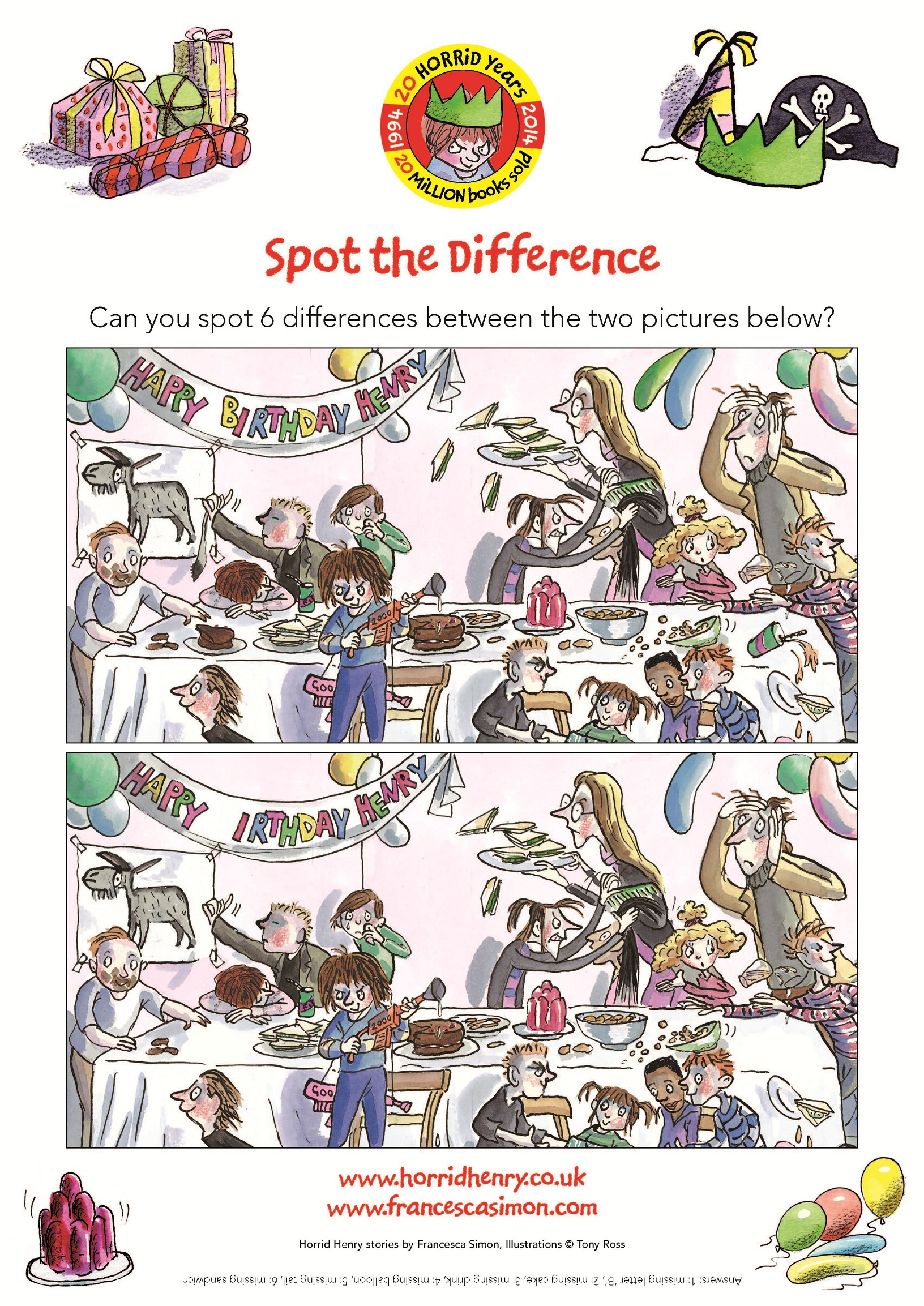 birthday activity sheets ; spot_the_difference_small