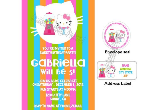 birthday address labels ; hello_kitty_gumball_birthday_invitations_w_address_labels_and_seals_fd0a87a3