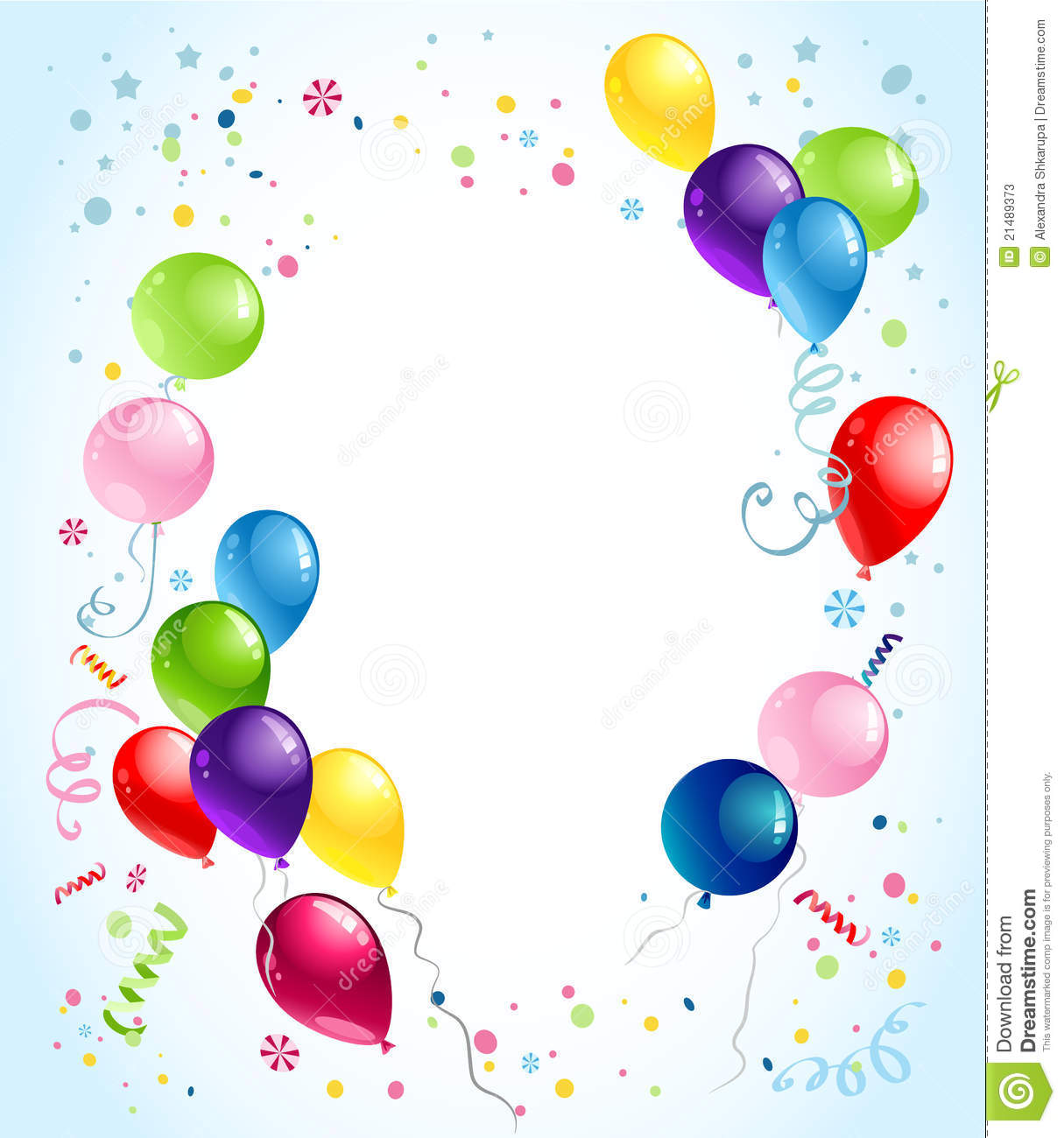birthday background clipart ; balloon-background-clipart-8