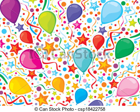 birthday background clipart ; birthday-background-clipart-vector_csp18422758
