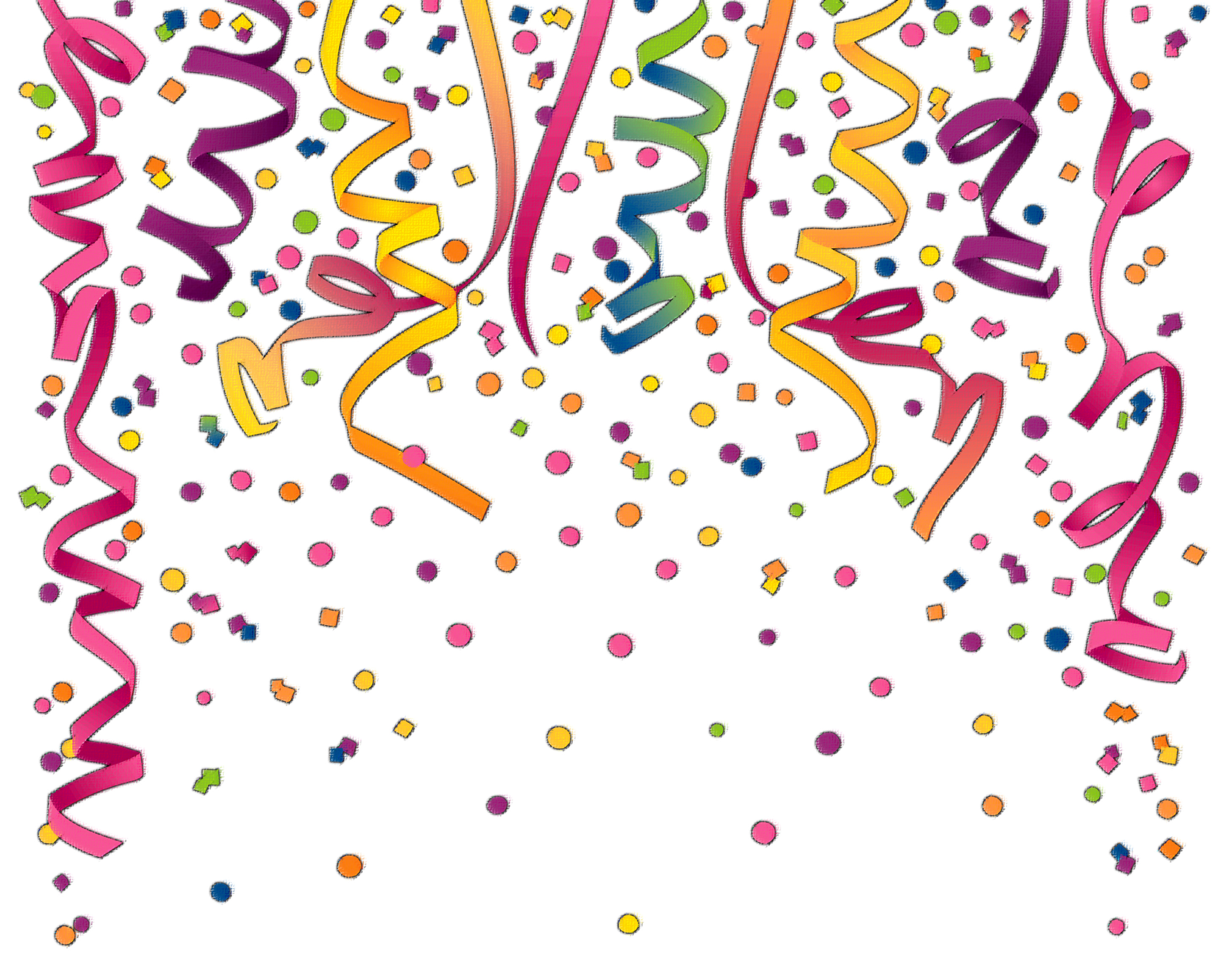 birthday background clipart ; confetti-birthday-clipart-4