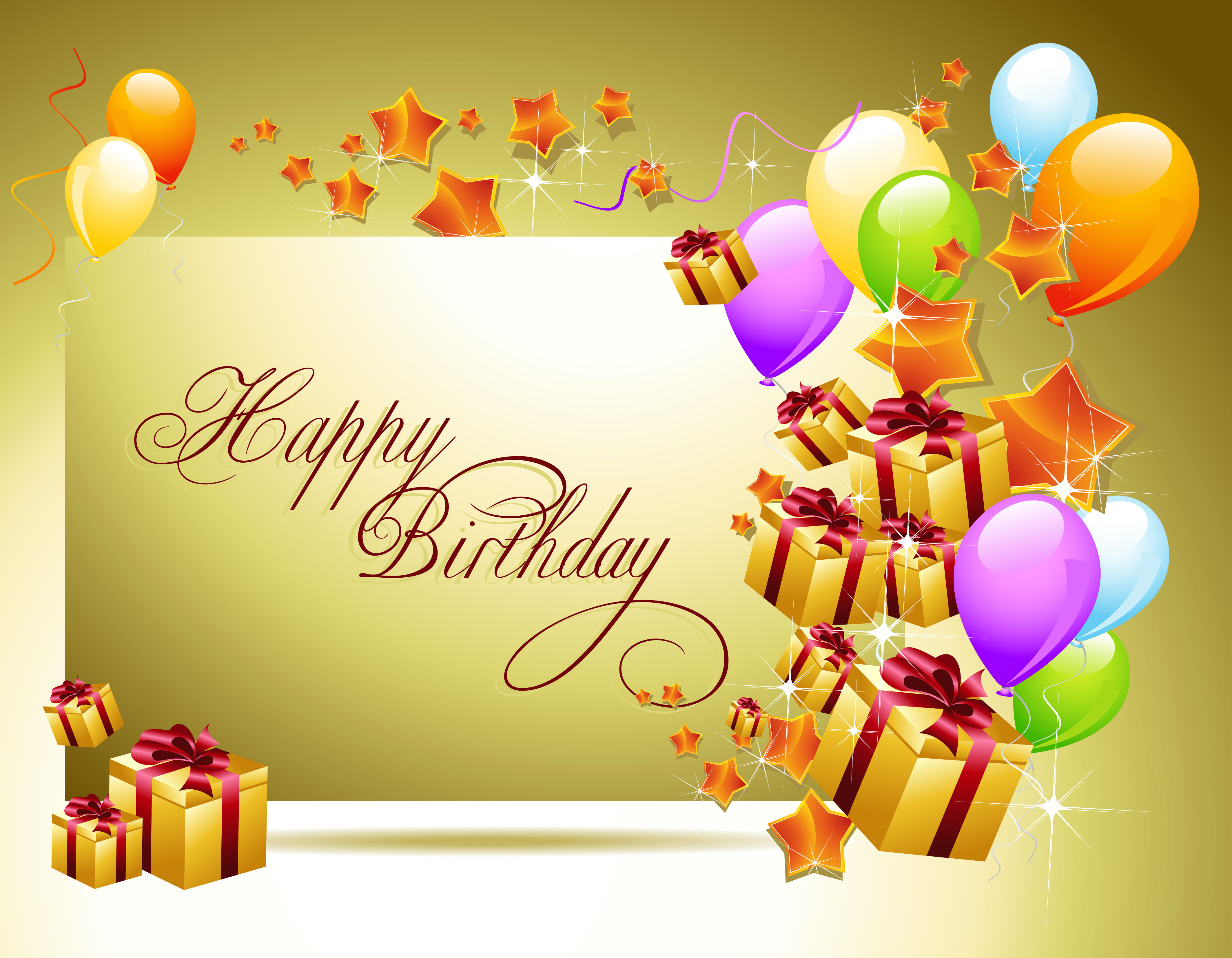 birthday background wallpaper ; Holidays___Birthday_Congratulations_on_the_birthday__golden_background_051789_