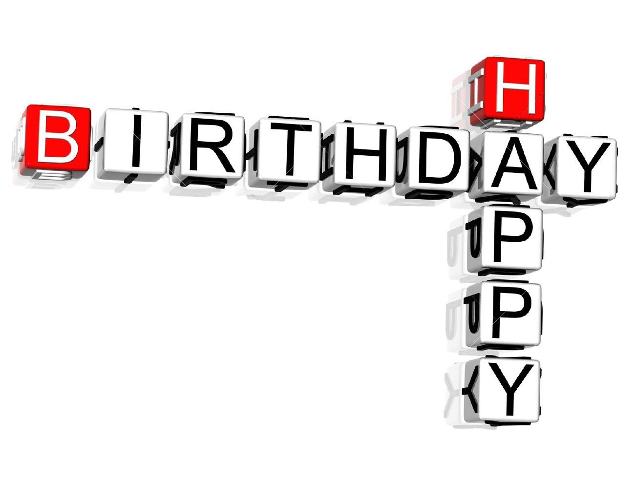 birthday background wallpaper hd ; 3D-Happy-Birthday-Crossword-text-White-Background-Full-HD-Wallpapers