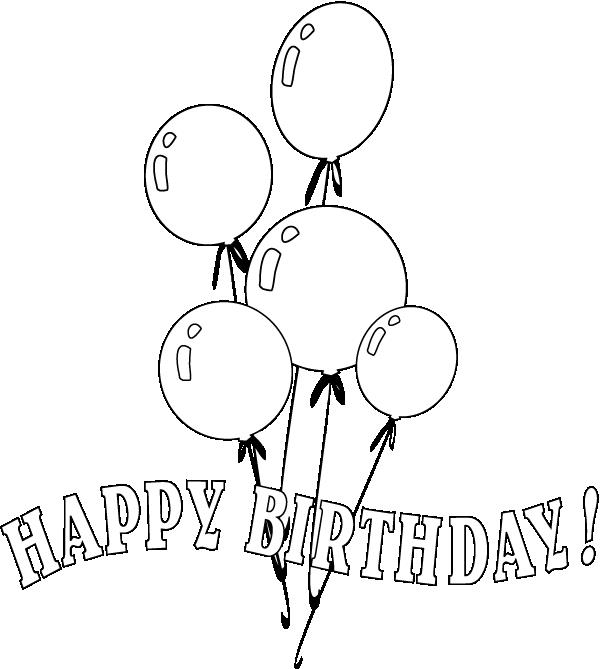 birthday balloon coloring pages ; 9aa04c179a48d3a79ed1062bed053ca6