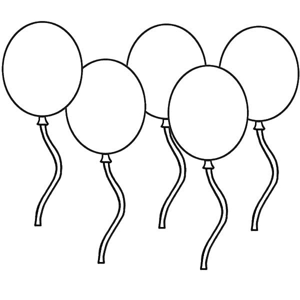 birthday balloon coloring pages ; Best-Balloons-Coloring-Pages-42-For-Your-Download-with-Balloons-Coloring-Pages