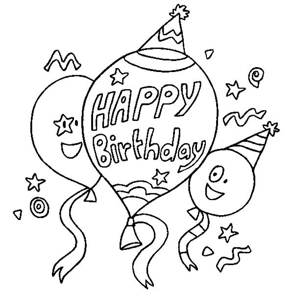 birthday balloon coloring pages ; Happy-Birthday-Balloons-Coloring-Pages-600x600