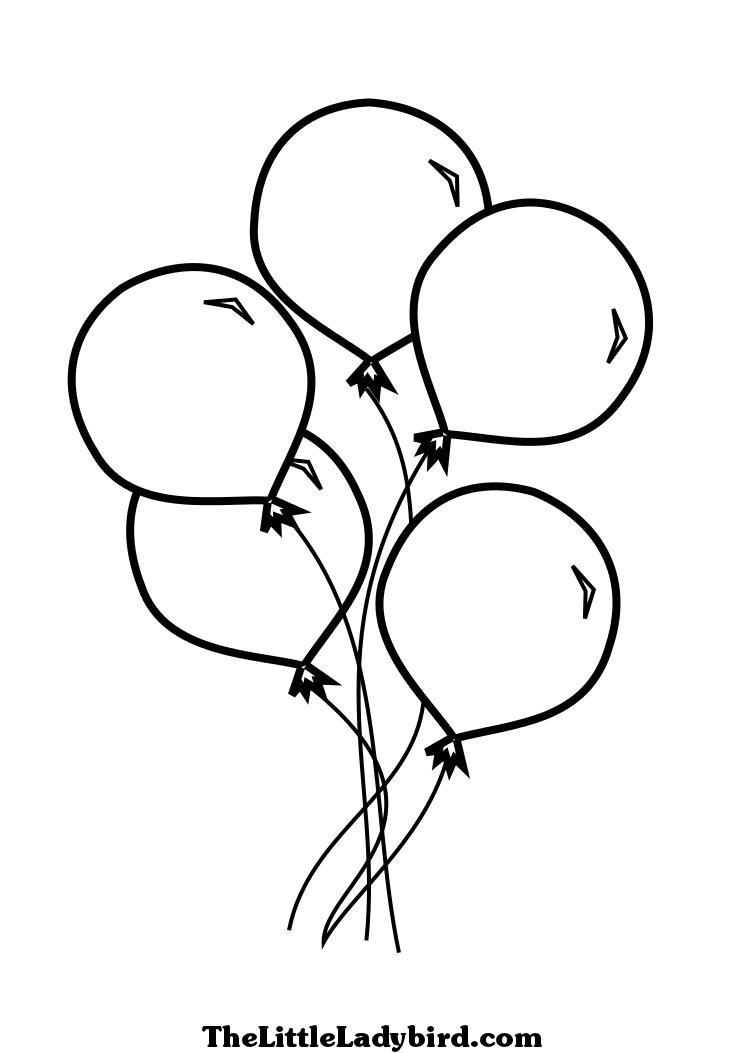 birthday balloon coloring pages ; balloon-coloring-pages-coloring-pictures-of-balloons-balloons-coloring-pages-for-children-free