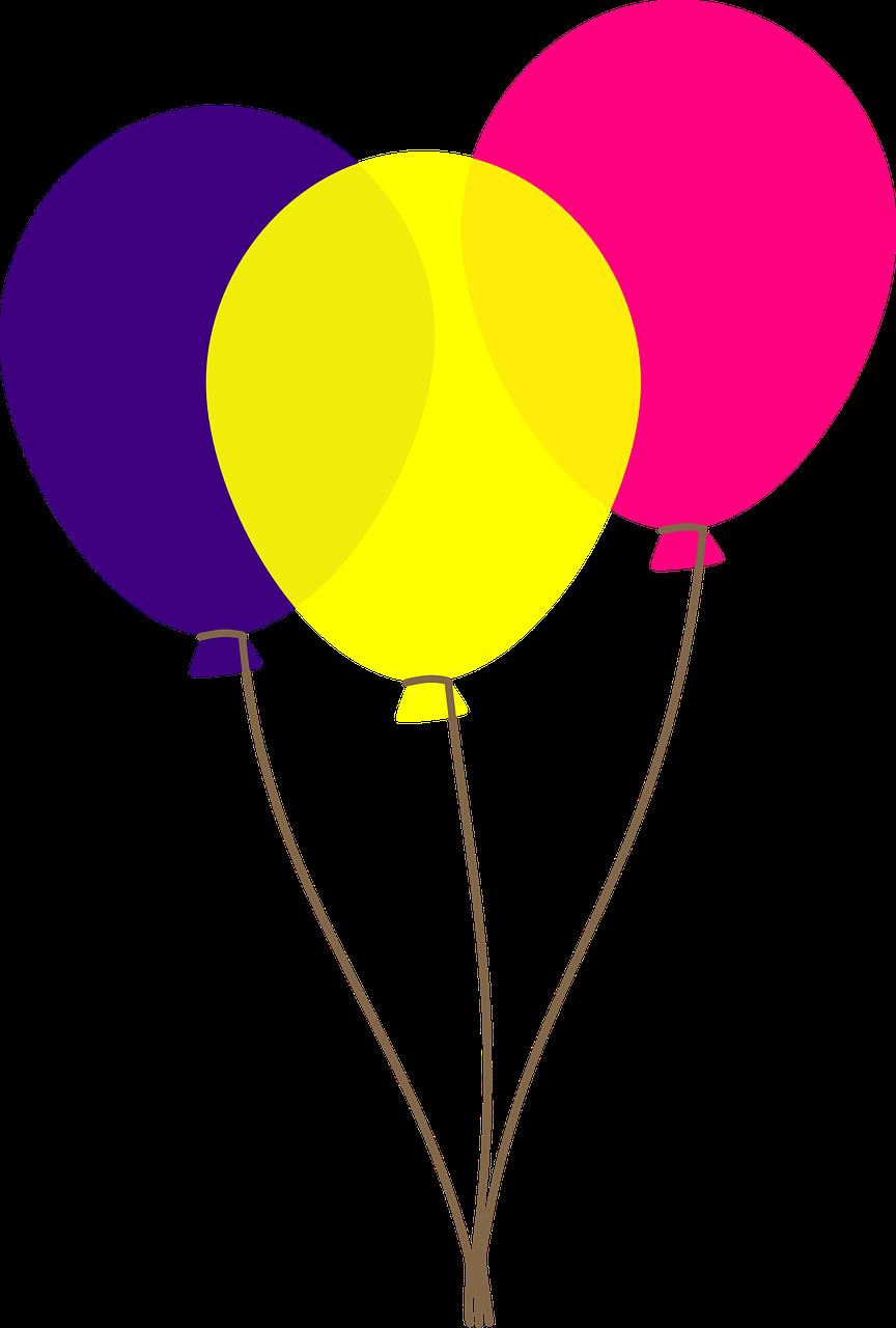birthday balloons clipart ; Free-birthday-balloons-clip-art-pictures-2
