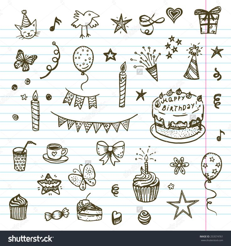 birthday balloons drawing ; aacce4c4b3ae0cd56065800fe5197225--children-drawing-birthday-cakes