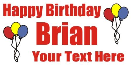birthday banners and signs ; birthday1