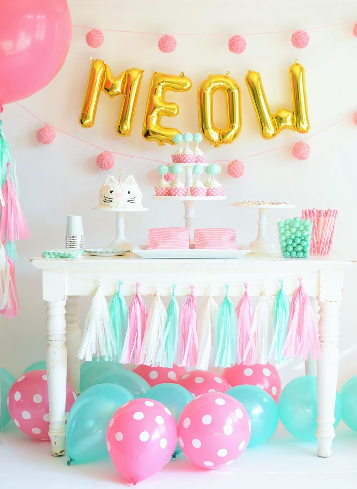 birthday bash wallpaper ; 41949d08271ee0a81c403f3946406dea--kitten-birthday-parties-birthday-party-themes
