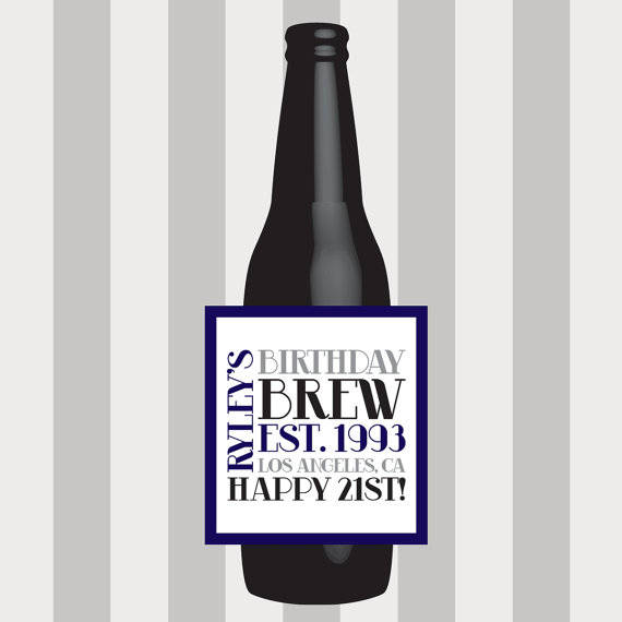 birthday beer labels ; e6f8704627852c31fea3bbfdb9ee7f54