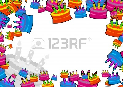 birthday border design ; 2448209
