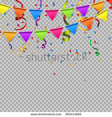 birthday border design ; stock-vector-party-background-with-flags-vector-illustration-eps-393414682