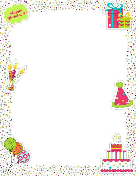 birthday border paper ; 6939fd7a3a56c2174cd8ca72d7ccf9e3--borders-and-frames-page-borders