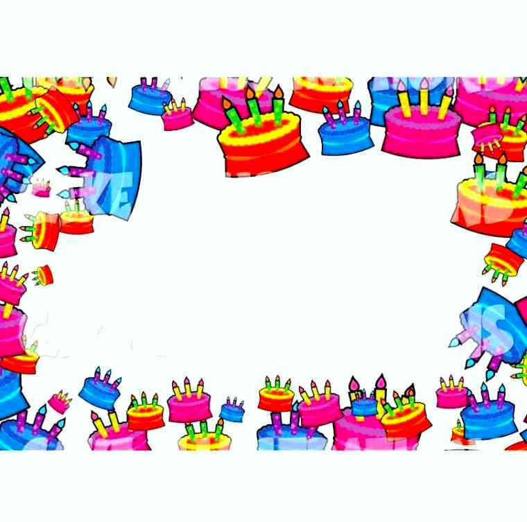birthday border template ; Birthday-Borders-And-Backgrounds