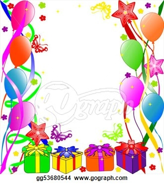 birthday borders and backgrounds ; birthday-clipart-borders-19