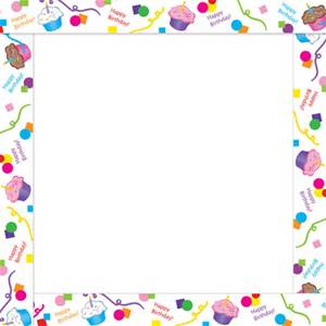 birthday borders and frames ; 4df4eec69e3433d1c0f220086c462363