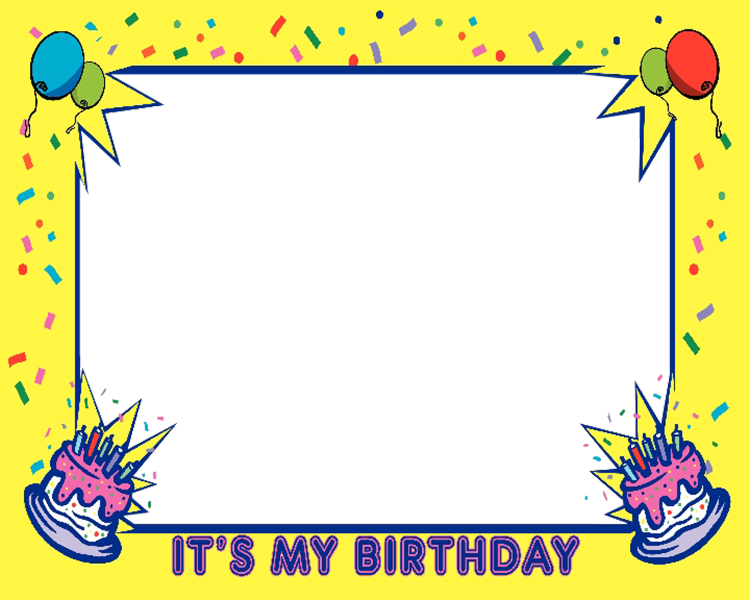 birthday borders and frames ; Bcar9zxKi