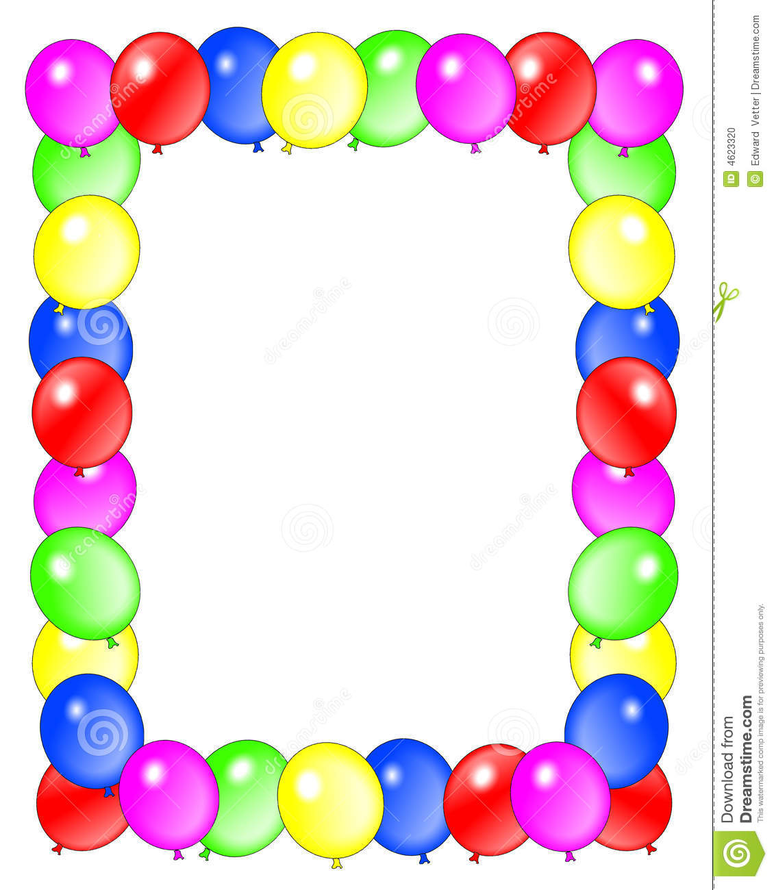 birthday borders and frames ; birthday-clip-art-borders-birthday-balloons-border-frame-4623320