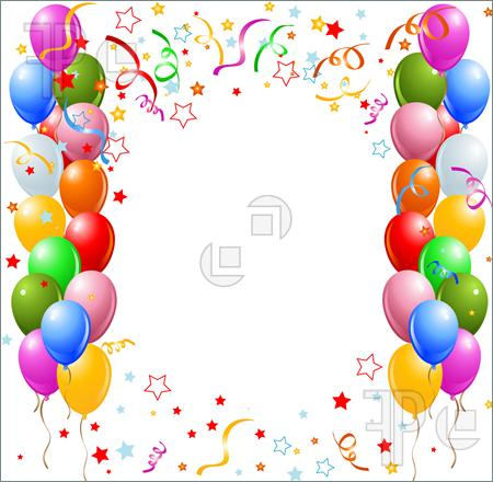 birthday borders for microsoft word ; Balloon-Borders-Clipart3