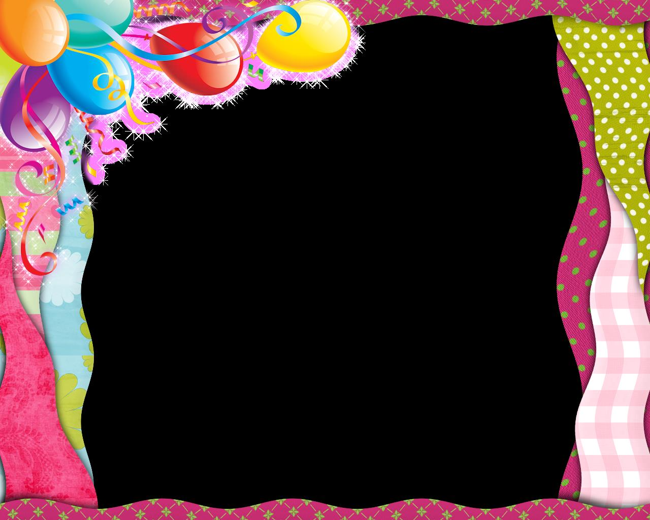 birthday borders for word documents ; happy-birthday-frame-clipart-png-37