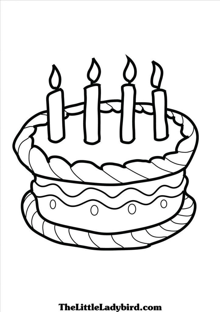 birthday cake coloring ; Top-birthday-cake-coloring-page-wallpaper-723x1024