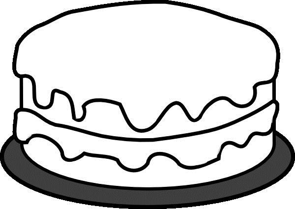 birthday cake coloring book ; cake-clipart-coloring-book-12