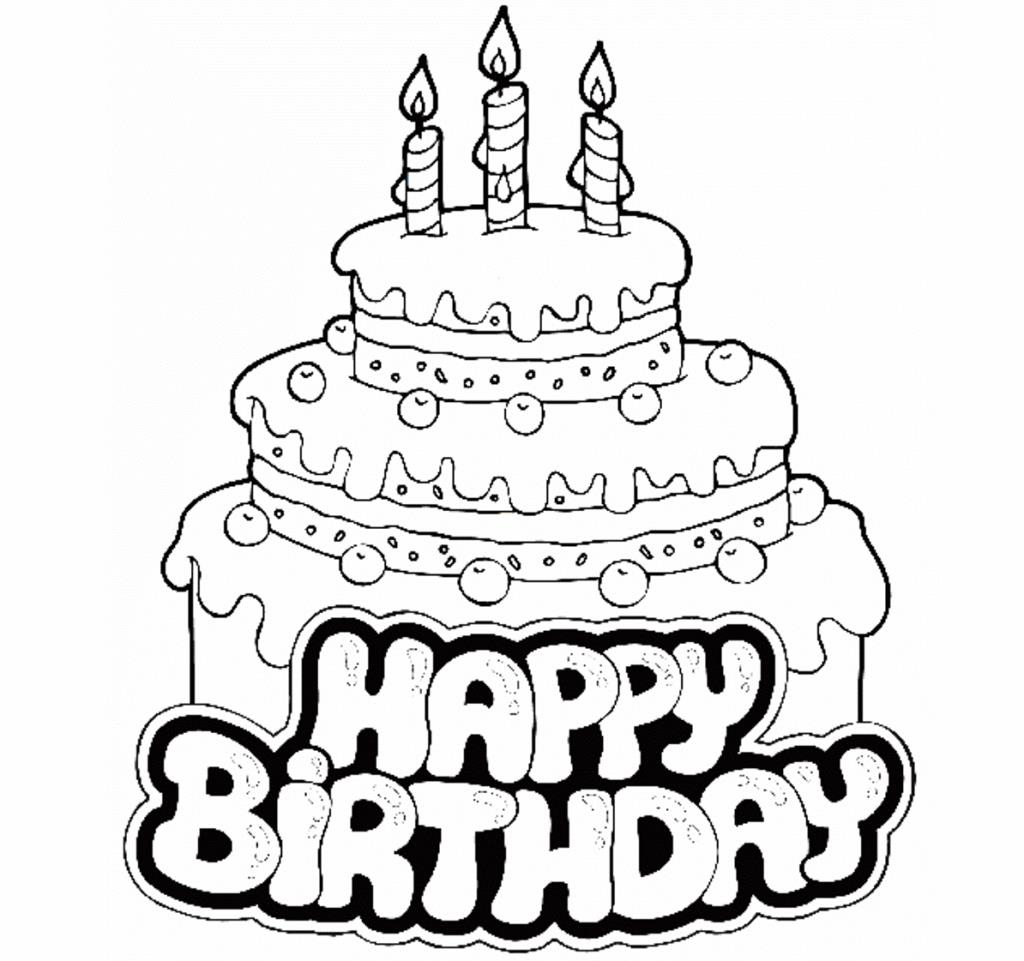 Groovy Birthday Cake Coloring Page Best Happy Birthday Wishes Funny Birthday Cards Online Overcheapnameinfo