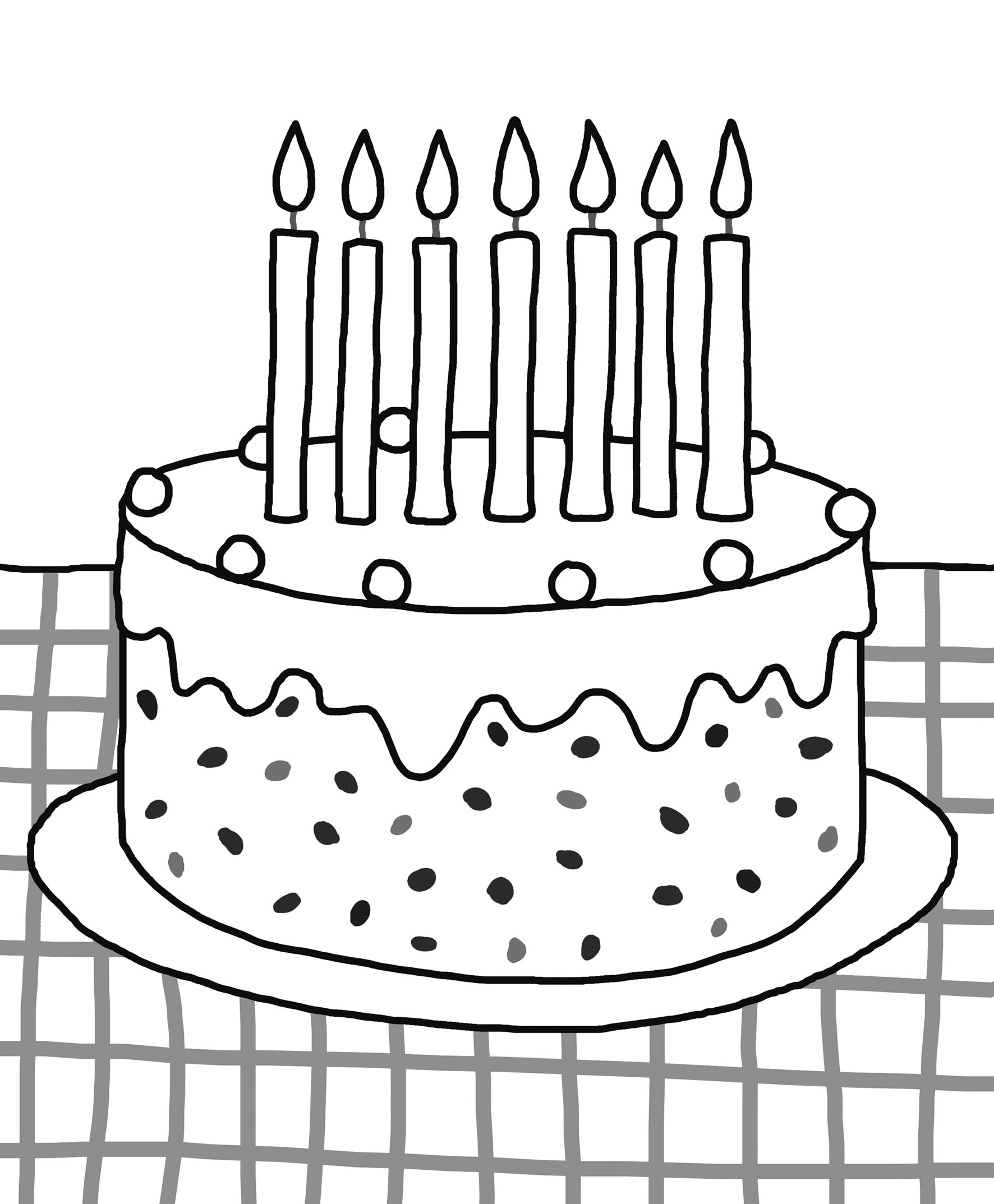 birthday cake coloring page free printable ; unnamed-file-625