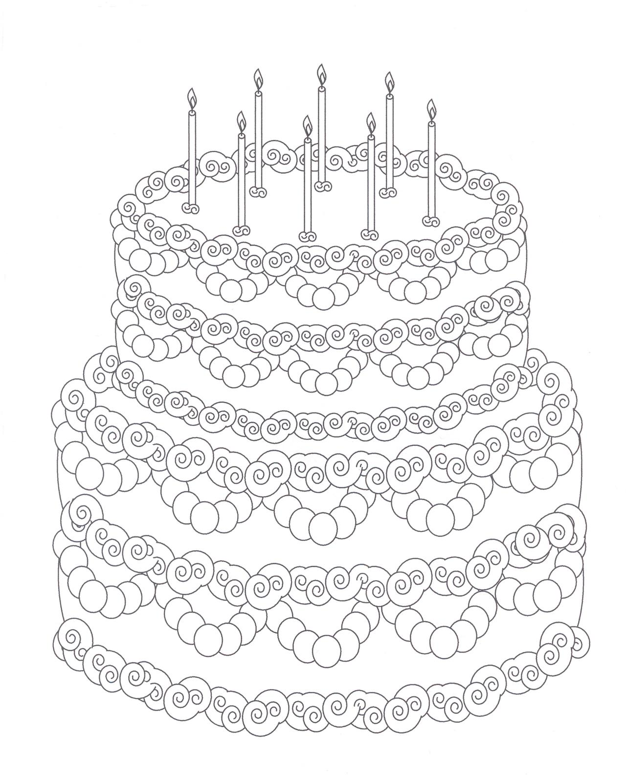 birthday cake coloring pages free ; Cake-coloring-pages-free-to-print