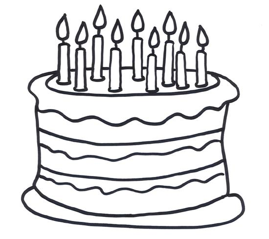 birthday cake coloring pages free ; Fresh-Birthday-Cake-Coloring-Pages-94-With-Additional-Free-Download-with-Birthday-Cake-Coloring-Pages