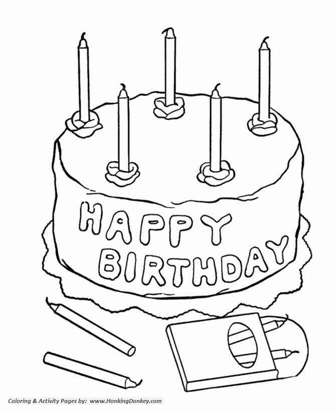 birthday cake coloring pages free ; birthday-coloring-pages-free-printable-kids-happy-birthday-cake