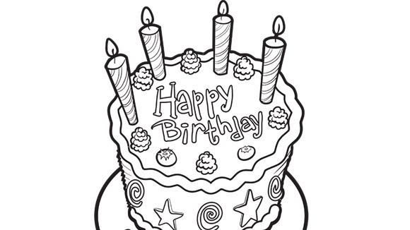 birthday cake coloring pages printable ; 2f4f62708a9484547de17a6f7bd8aa17_birthday-cake-580x326_featuredImage
