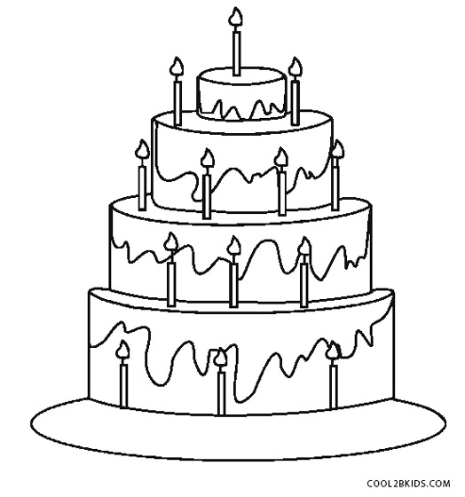 birthday cake coloring pages printable ; Birthday-Cake-Printable-Coloring-Pages