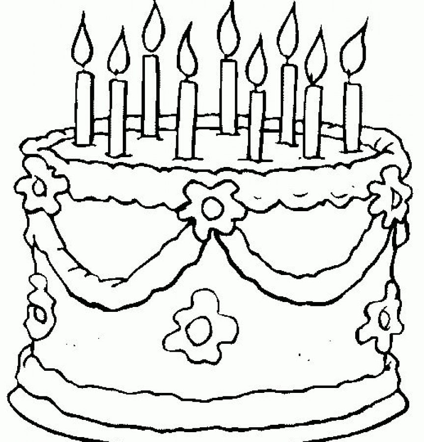 birthday cake coloring pages printable ; get-this-printable-birthday-cake-coloring-pages-863x900