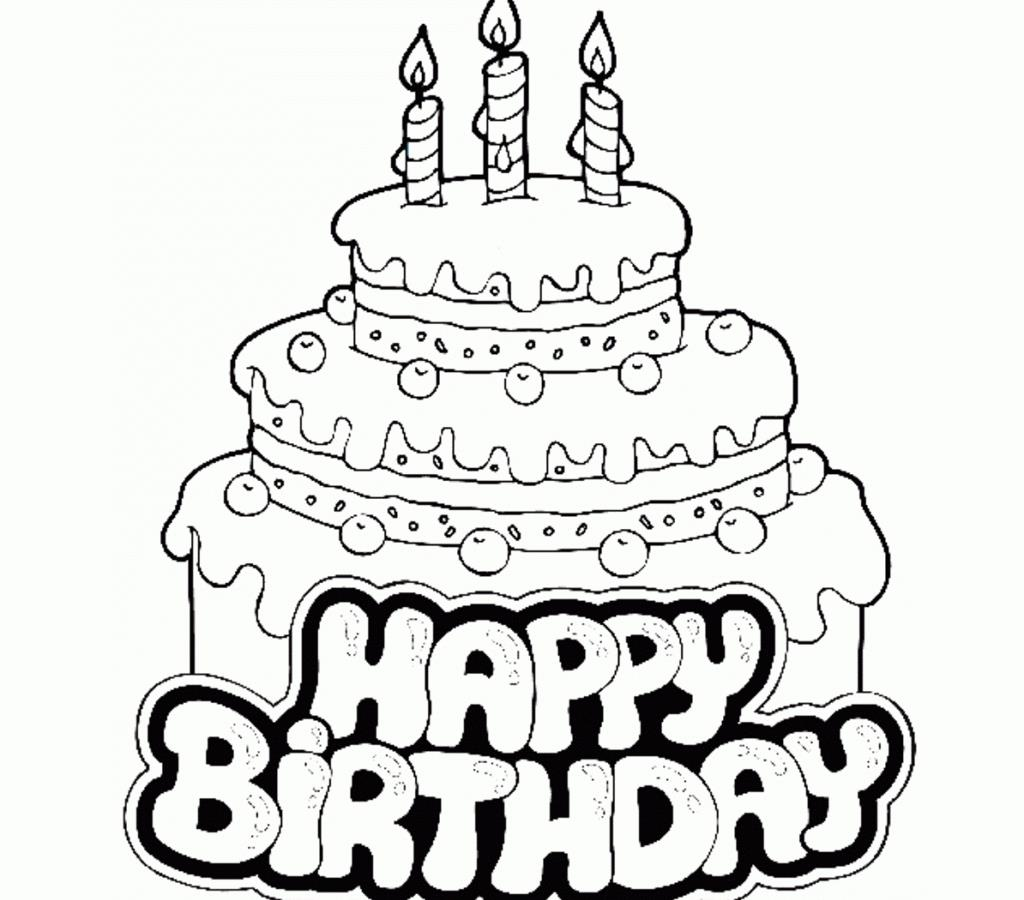 birthday cake coloring printable ; awesome-birthday-cake-coloring-page-in-print-1024x900
