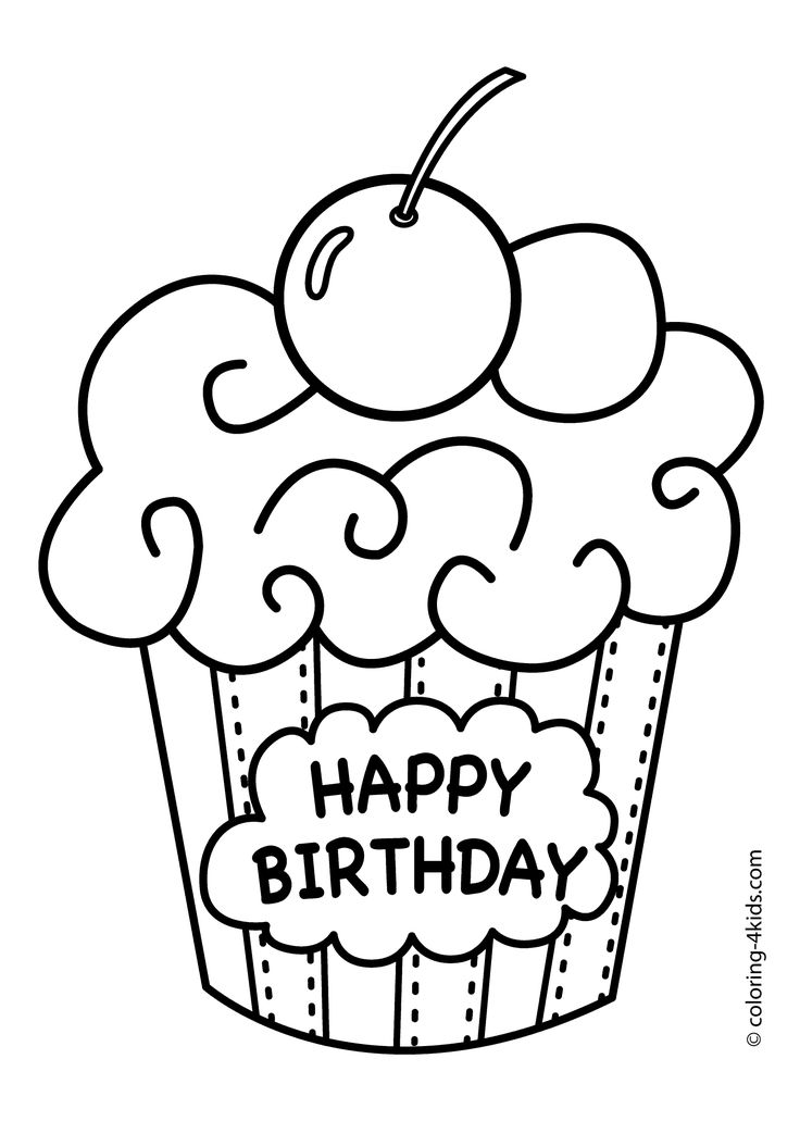 birthday cake coloring printable ; c3622c5f8ea7d044edae4353d7168c54--coloring-pages-for-kids-printable-coloring-pages