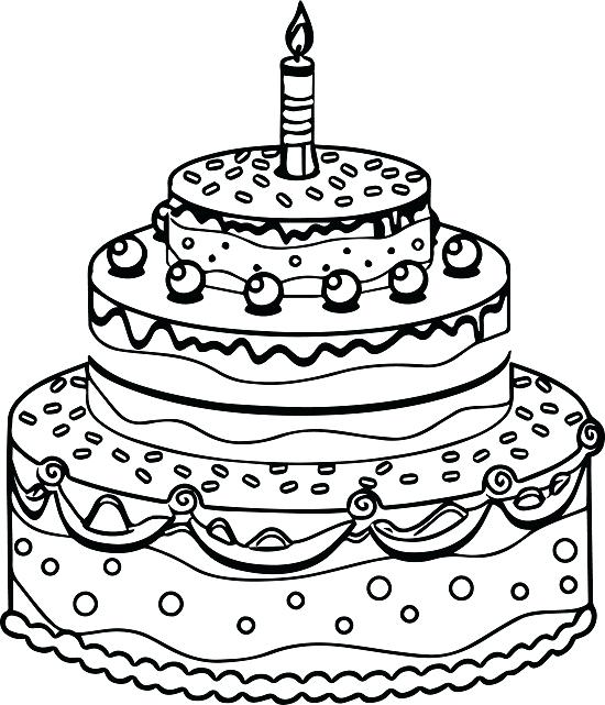 birthday cake coloring sheet ; Remarkable-Cake-Coloring-Page-96-On-Download-Coloring-Pages-with-Cake-Coloring-Page