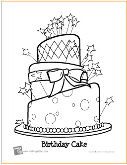 birthday cake coloring sheet ; birthday-cake-coloring-page