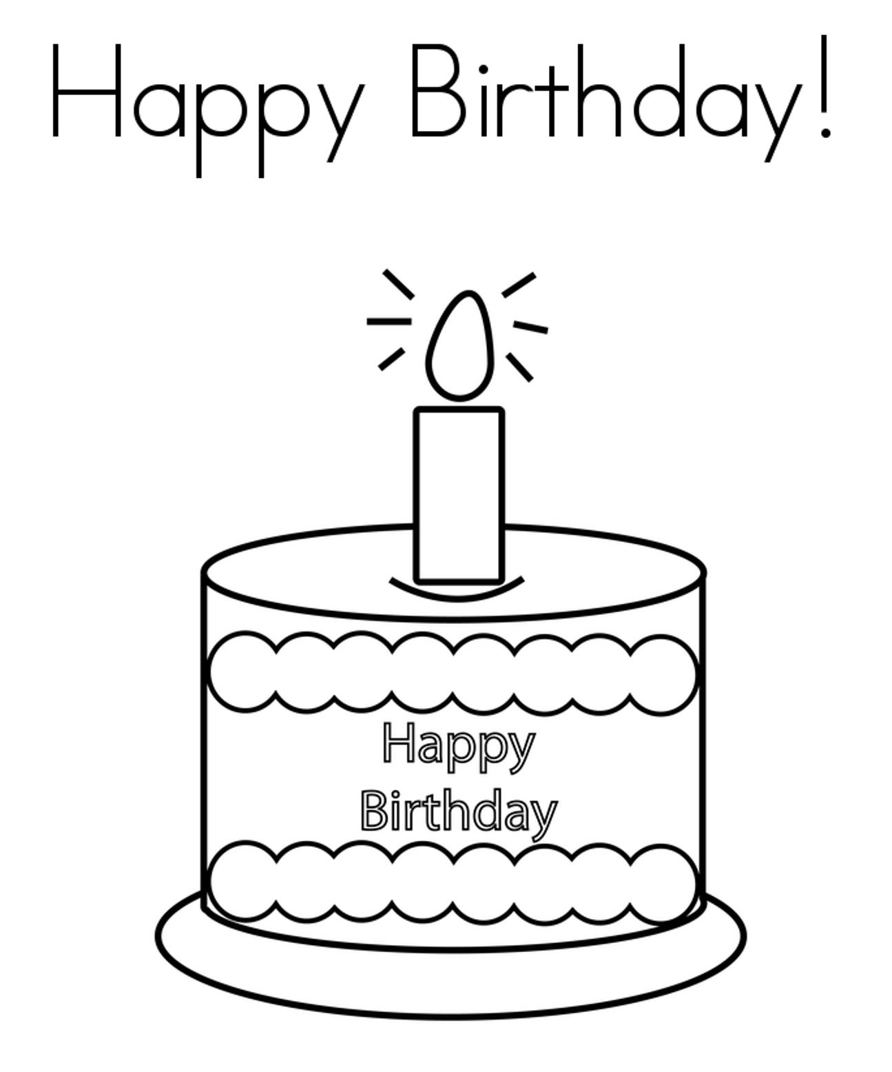 birthday cake coloring sheet ; coloring-book-birthdayke-pages-ofkecoloring-happy-page