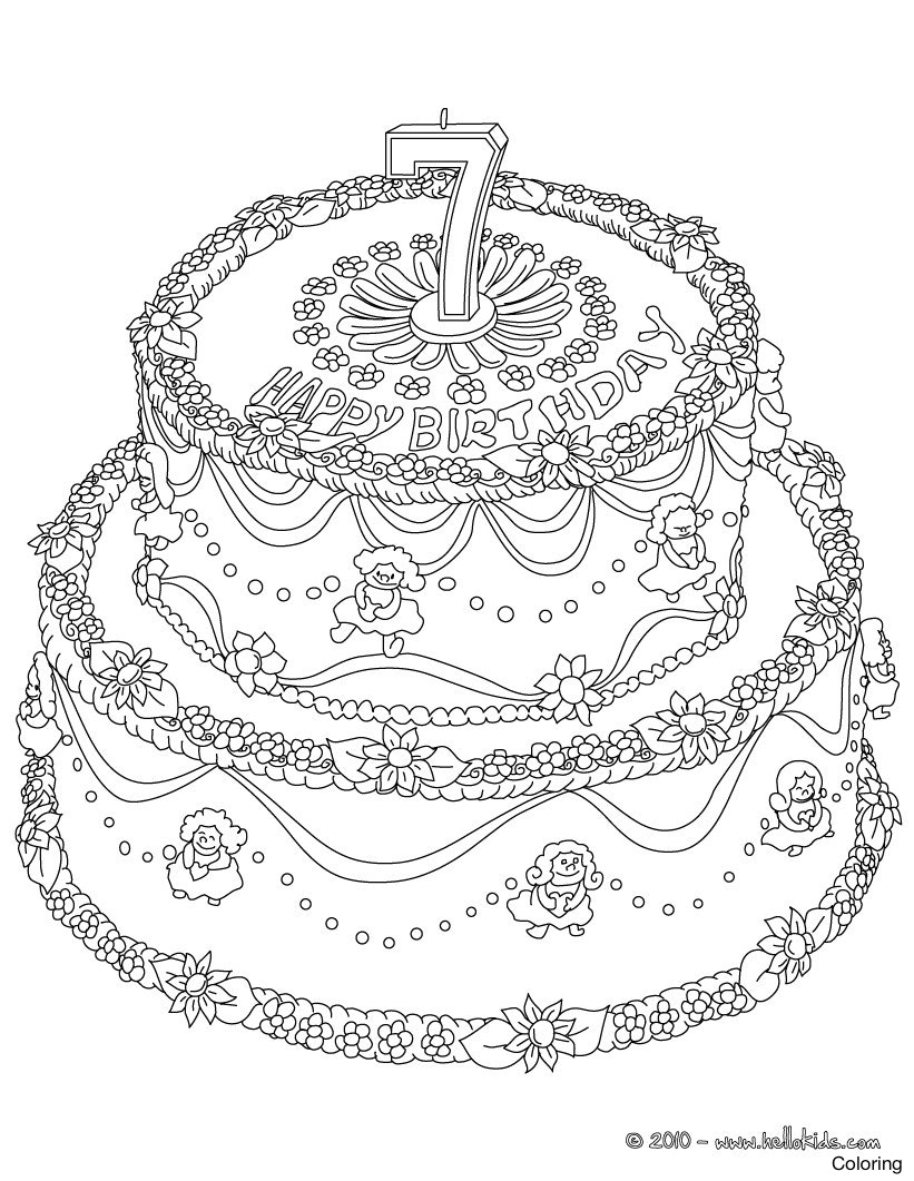 birthday cake coloring sheets free ; birthday-cake-number-7-01-jck-source-coloring-pages-yeras-page-15f
