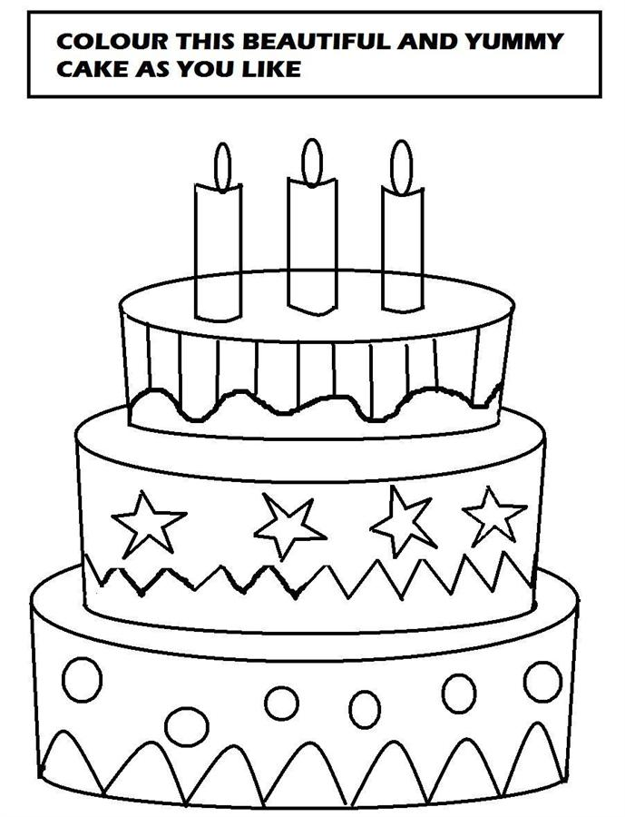 birthday cake drawing for kids ; Free_Printable_Birthday_Cake_Coloring_Pages