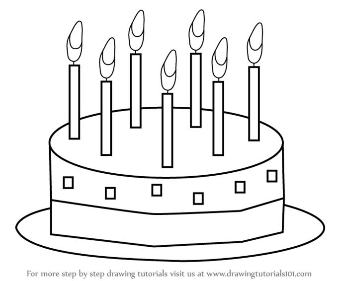 birthday cake drawing for kids ; drawing-pictures-for-kids-learn-how-to-draw-birthday-cake-for-kids-cakes-step-step-blank-coloring-pages-678x566