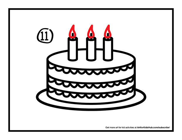 birthday cake drawing step by step ; 8izrj6grT