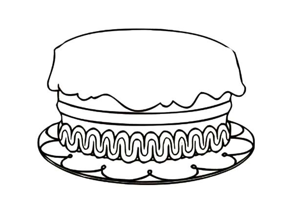 birthday cake for coloring ; first-birthday-cake-coloring-page-pict-852724