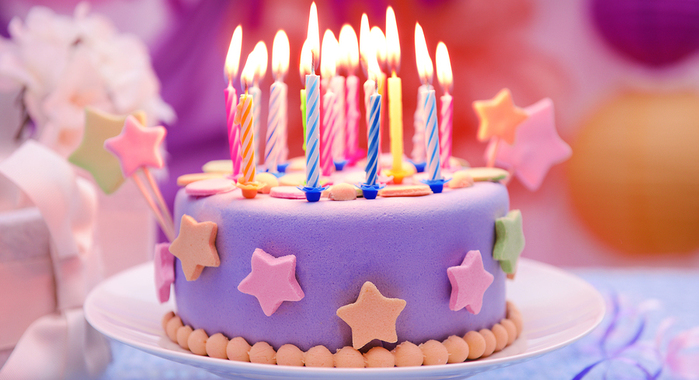 birthday cake picture image ; bigstock-Delicious-birthday-cake-on-tab-78718583
