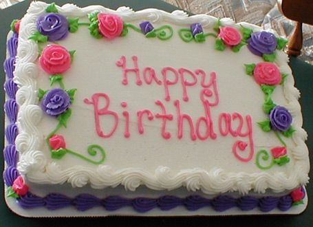 birthday cake sheet cake ; pink-and-purple-sheet-cakes-google-search-1st-birthday-ideas-birthday-sheet-cake-recipe