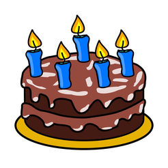 birthday cake stickers for facebook ; 246x0w