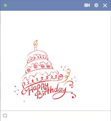 birthday cake stickers for facebook ; birthday-cake-facebook-sticker